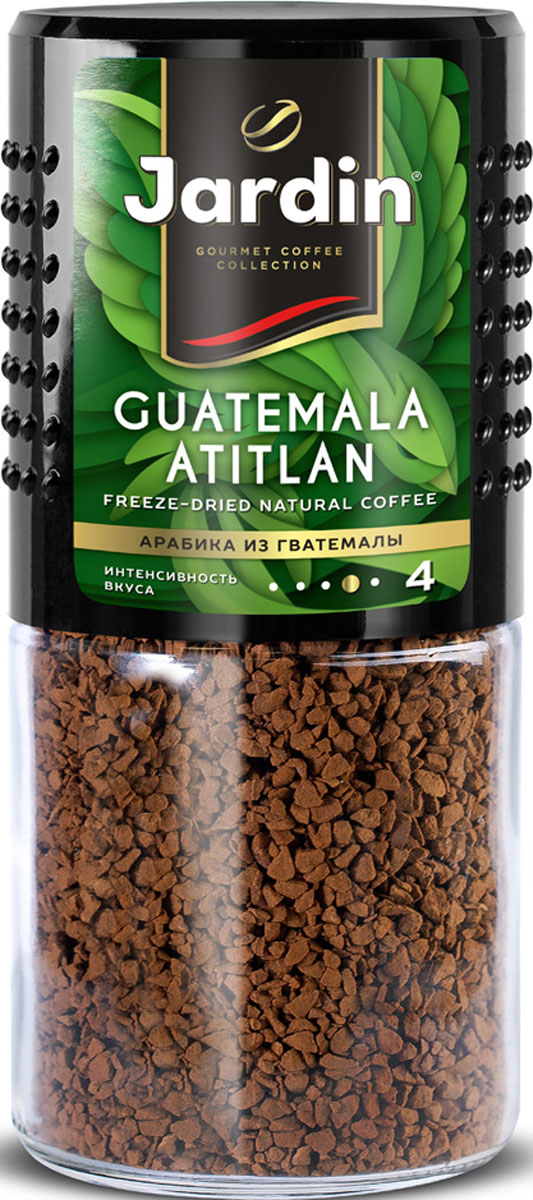 Jardin Guatemala Atitlan растворимый кофе, 95 г (стеклянная банка) kaja kahu minu guatemala