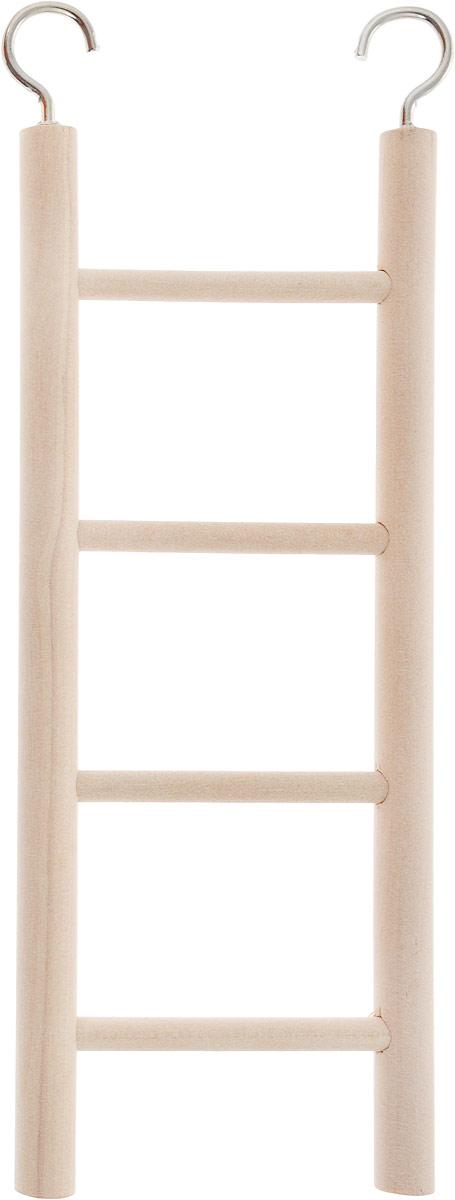 Лестница для попугая Trixie, 4 ступеньки, длина 20см цена