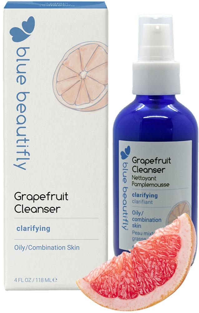 Blue BeautiflyГель для умывания проблемной кожи с органическим грейпфрутом, 118 мл Blue Beautifly