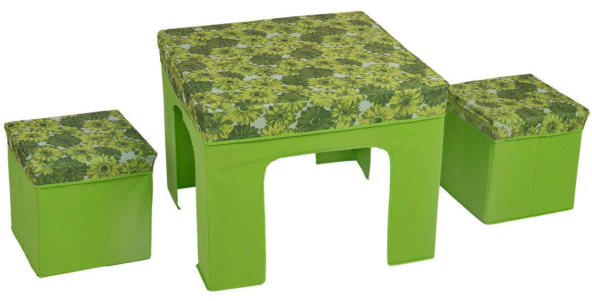 Набор складной мебели Orange, цвет: зеленый, 3 предмета джеймс джойс портрет художника в юности
