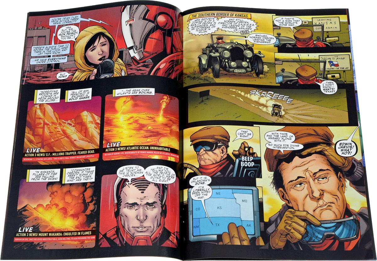 Mighty Avengers №21 Dark Reign Tie-In Earth's Mightiest, pt. 1