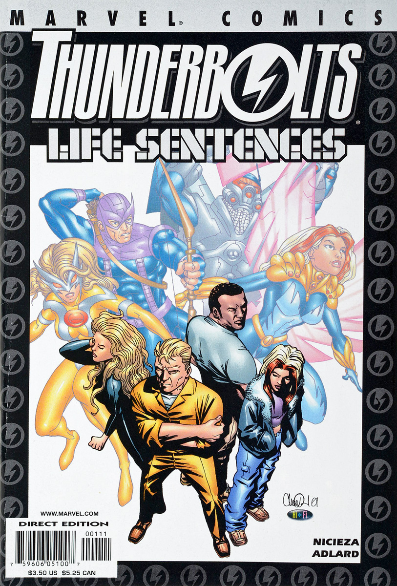 Nicieza, Adlard Thunderbolts: Life Sentences thunderbolts