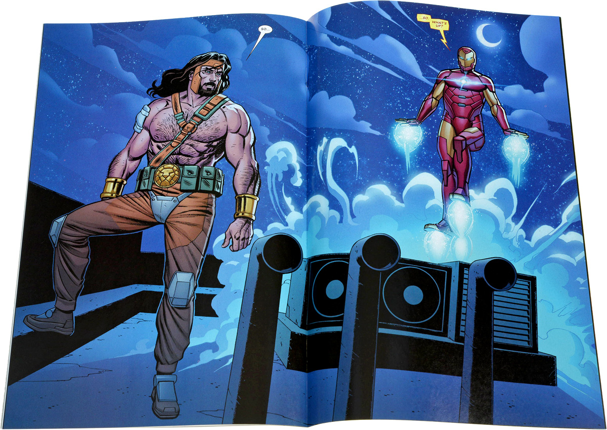 Hercules№6 The newborn gods of the Uprising Storm have power over world,...