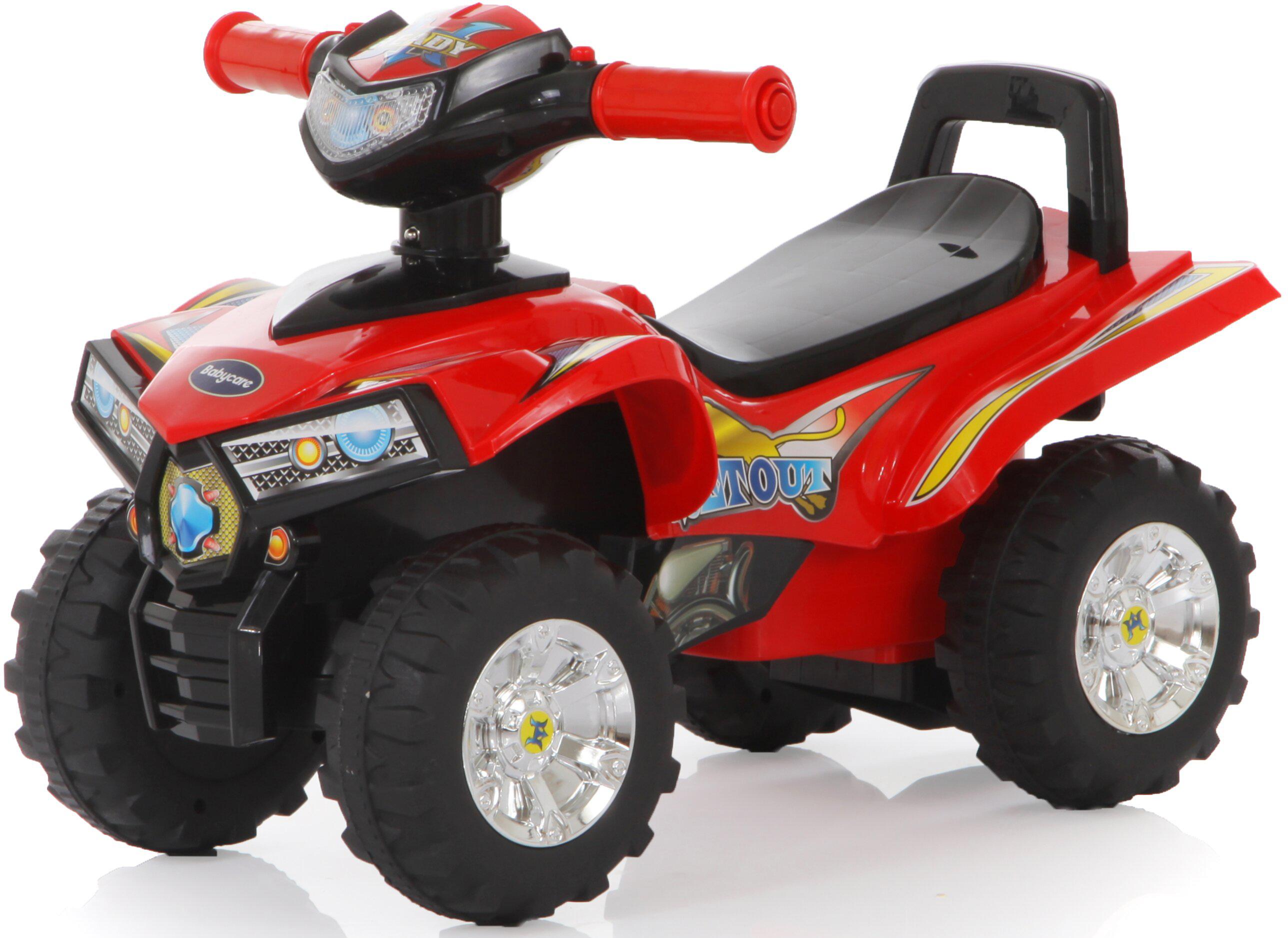Baby Care Каталка детская Super ATV цвет красный