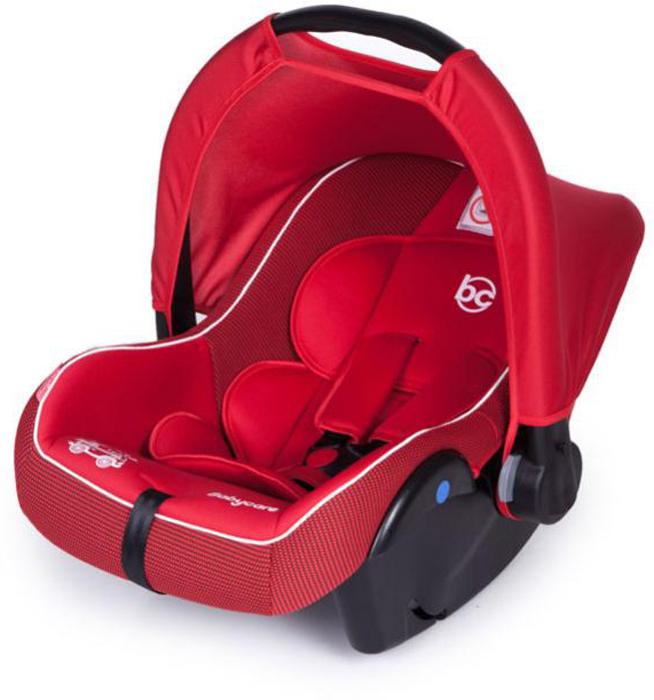 Baby Care Автокресло Lora цвет красный от 0 до 13 кг автокресло baby care baby care автокресло rubin черный серый 1008