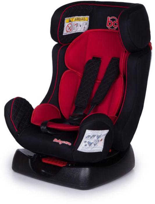 Baby Care Автокресло Nika цвет черный красный от 0 до 25 кг