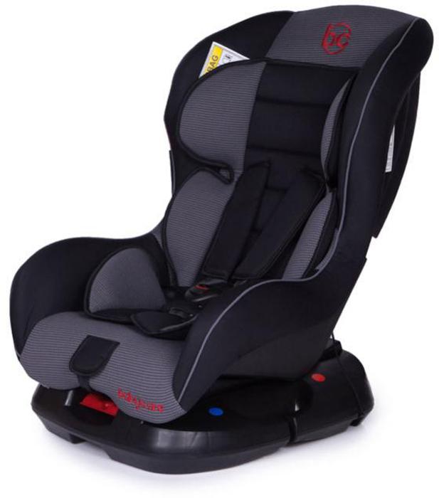Baby Care Автокресло Rubin цвет черный серый от 0 до 18 кг 1008