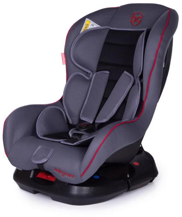 Baby Care Автокресло Rubin цвет серый черный от 0 до 18 кг автокресло baby care baby care автокресло rubin черный серый 1008