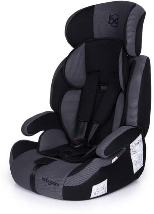 Baby Care Автокресло Legion цвет серый черный от 9 до 36 кг