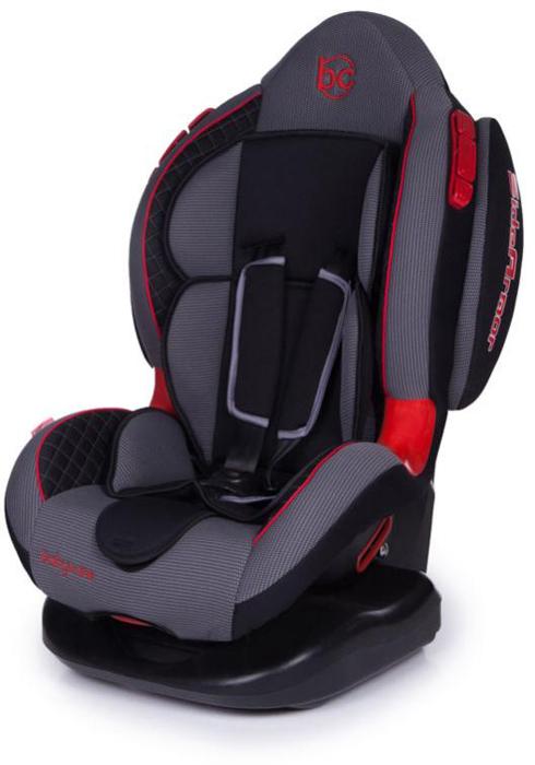 Автокресло Baby Care Polaris Isofix от 9 до 25 кг, 1008, черный, серый
