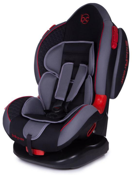 Автокресло Baby Care Polaris Isofix от 9 до 25 кг, 1023, черный, серый