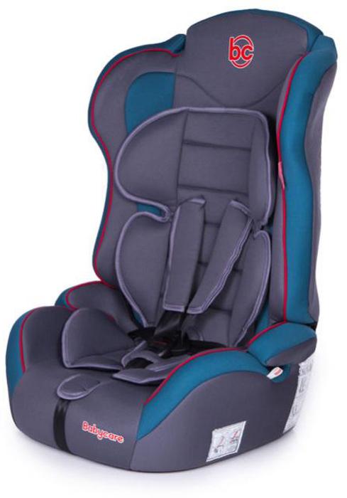 Автокресло Baby Care Upiter Plus от 9 до 36 кг, голубой, серый