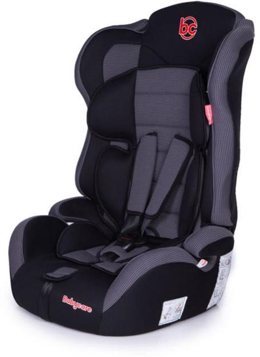 Автокресло Baby Care Upiter Plus от 9 до 36 кг, черный, серый