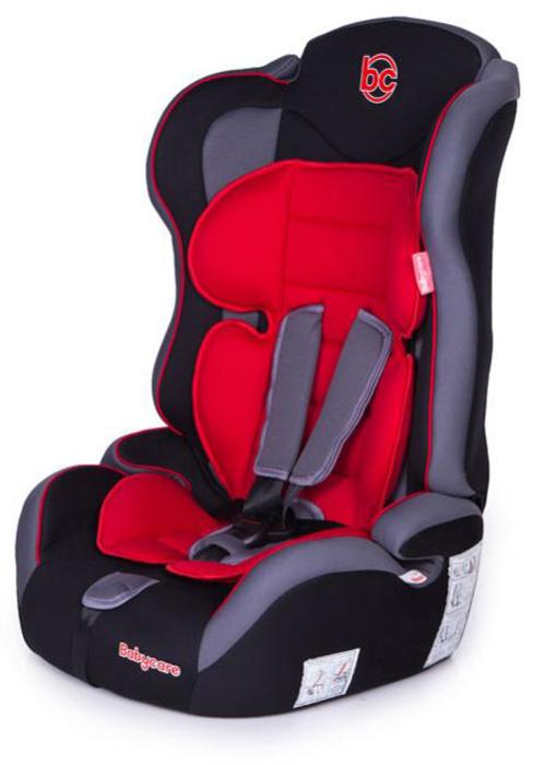 Baby Care Автокресло Upiter Plus цвет черный красный от 9 до 36 кг