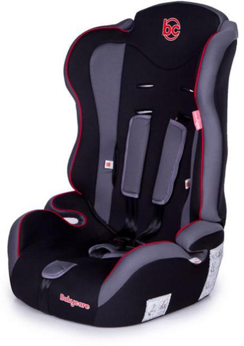Автокресло Baby Care Upiter от 9 до 36 кг, черный, красный