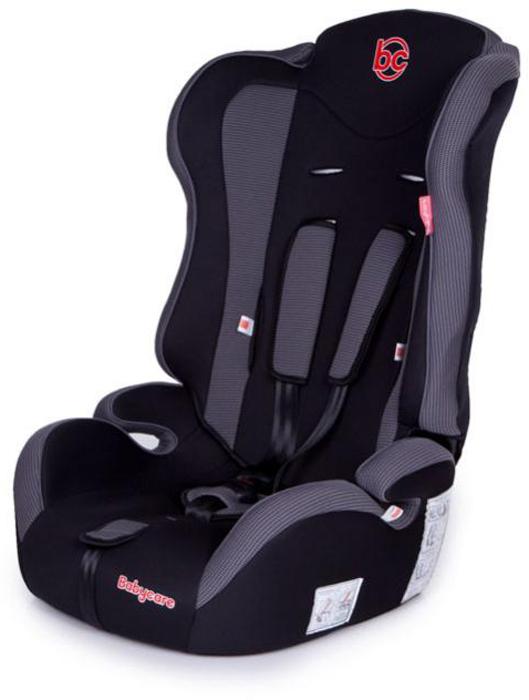 Baby Care Автокресло Upiter цвет черный серый от 9 до 36 кг