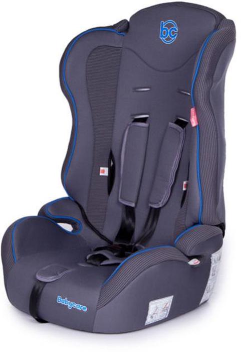 Baby Care Автокресло Upiter цвет серый синий от 9 до 36 кг