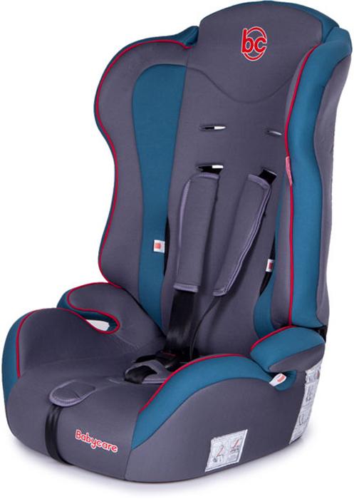 Baby Care Автокресло Upiter цвет голубой серый от 9 до 36 кг