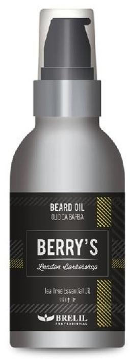 Brelil Berry's Barber Oil Масло для бороды, 50 мл