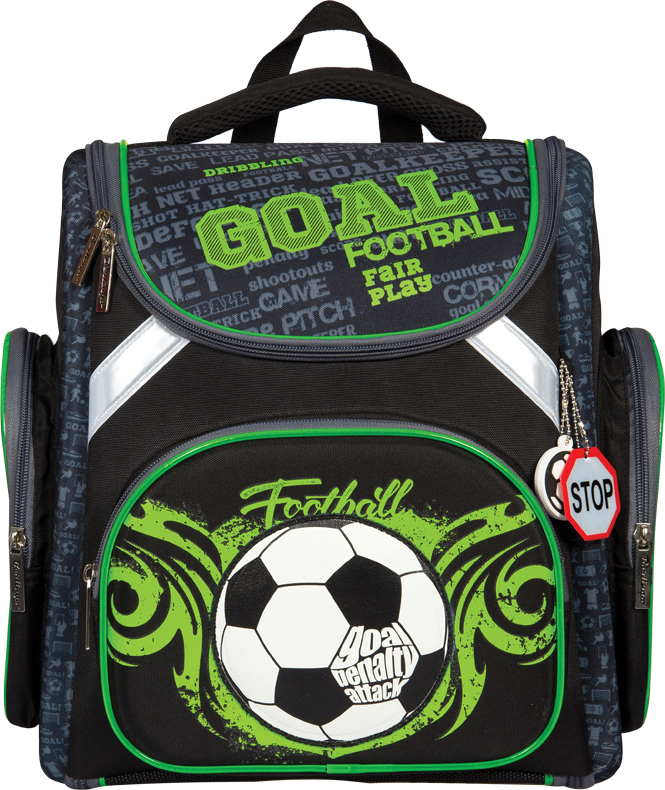 Berlingo Ранец школьный Ultra Compact Football style цена и фото