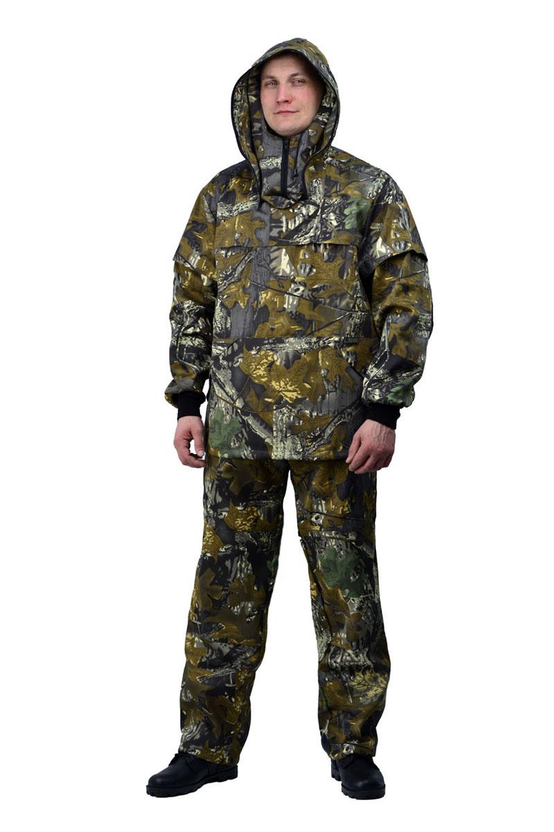 Костюм противоэнцефалитный мужской URSUS: куртка, брюки, цвет: оливковый, зеленый, серый. КОС285-К29. Размер 44/46-182/188