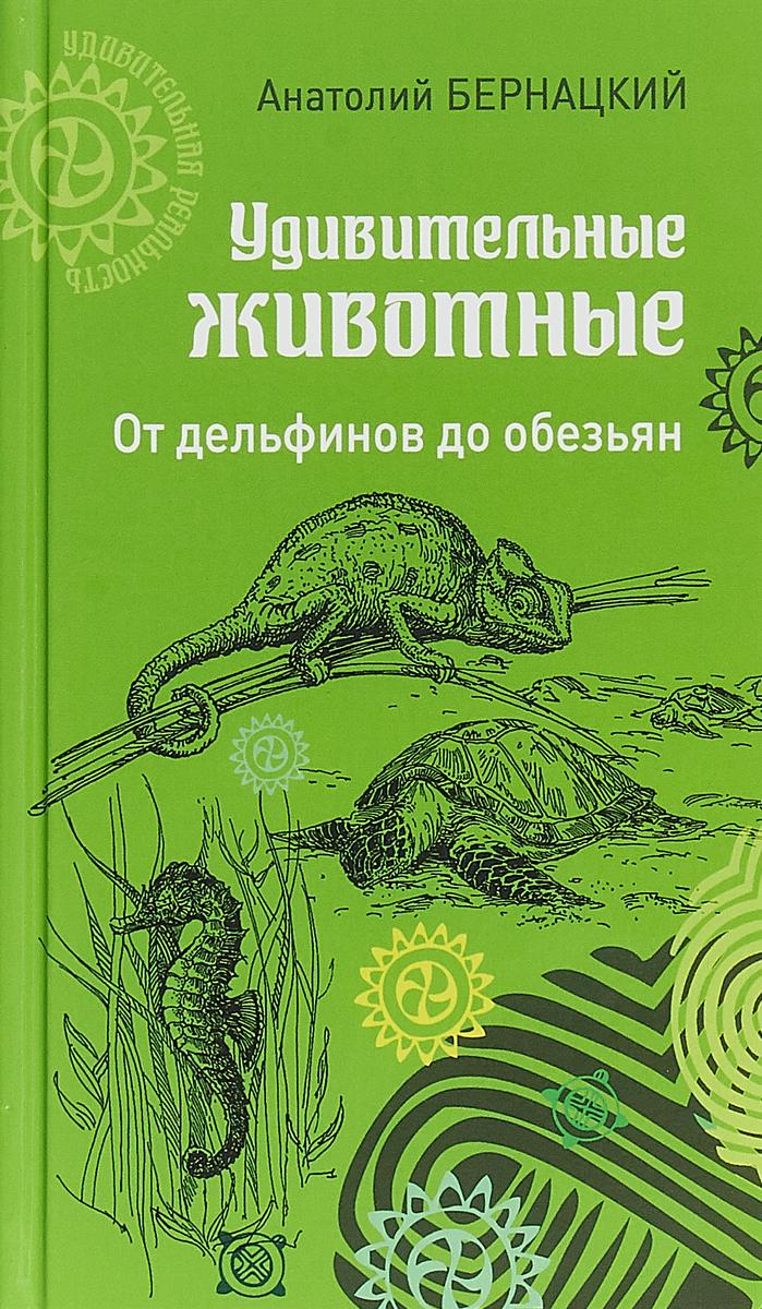 Анатолий Бернацкий Удивительные животные. От дельфинов до обезьян
