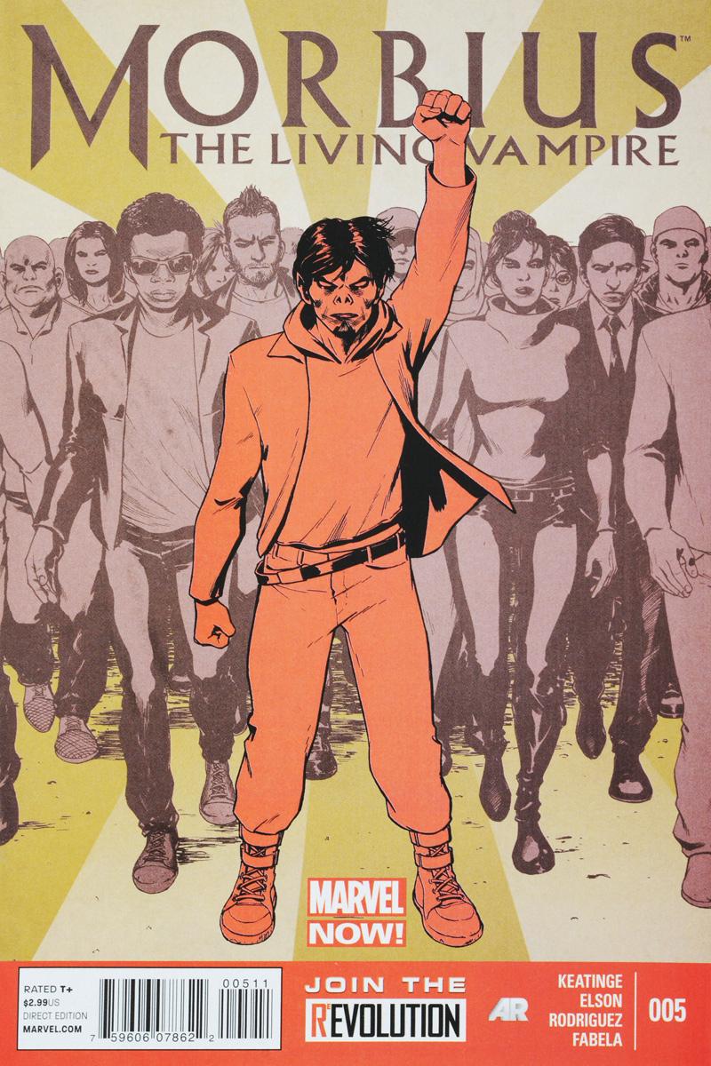 Keatinge, Elson, Rodriguez, Fabela Morbius: The Living Vampire №5