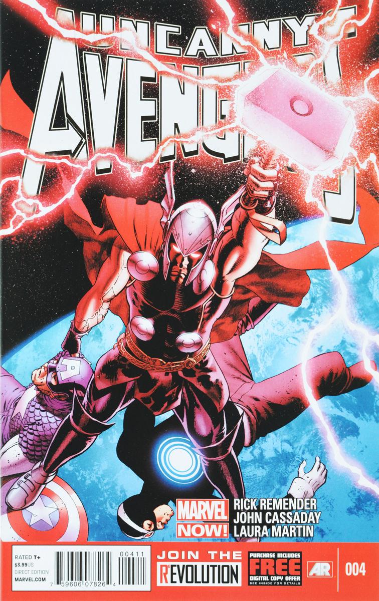 Remender, Cassaday Uncanny Avengers №4