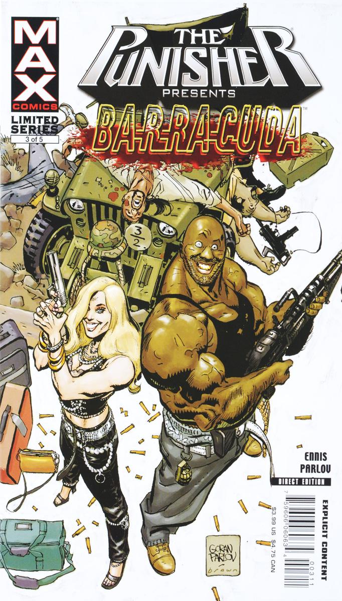 Ennis, Parlov Punisher Presents: Barracuda MAX №3 ennis parlov loughridge fury max 2012 marvel 4