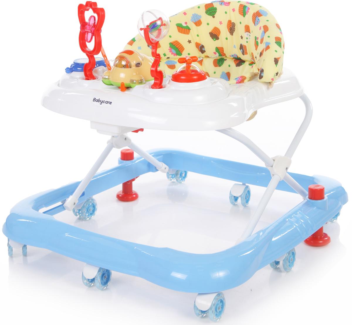 ходунки Baby Care Ходунки Mario цвет белый синий