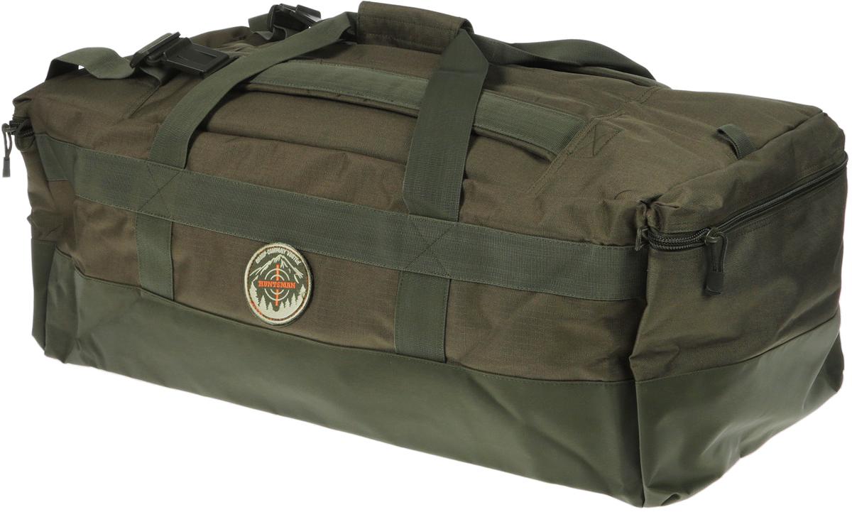 Сумка для охоты Huntsman Легион, цвет: хаки, 100 л