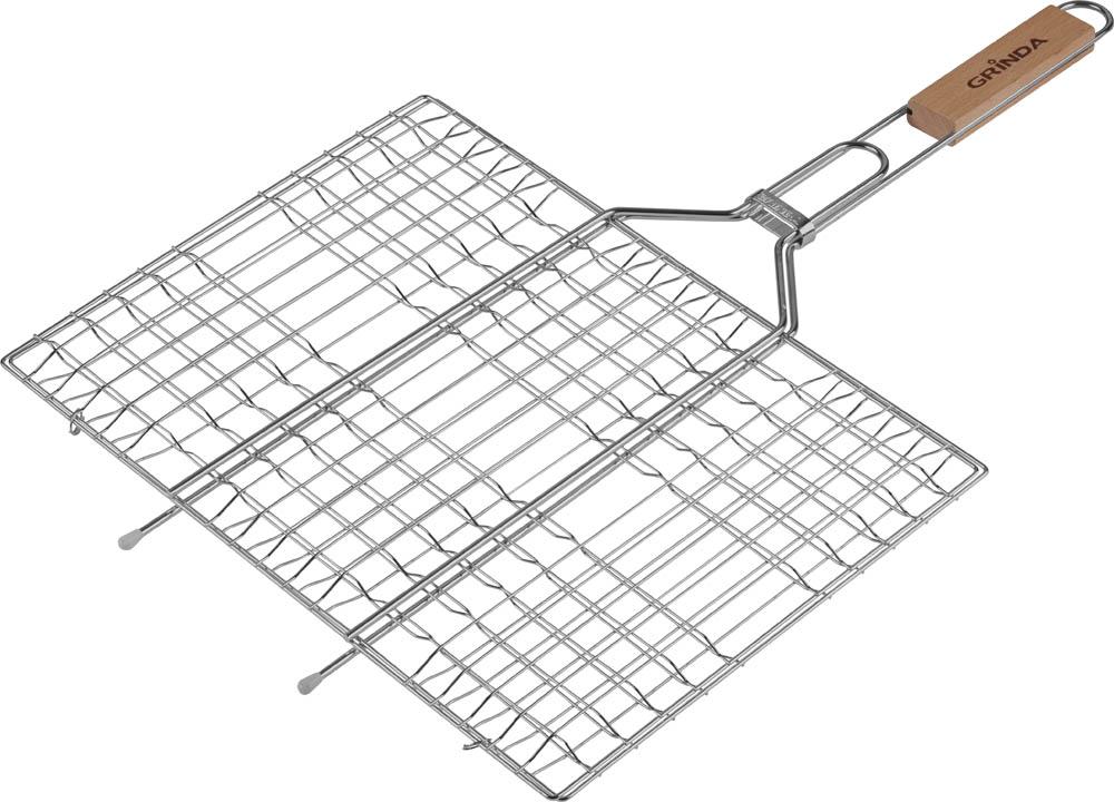 Решетка-гриль Grinda Barbecue, плоская, 30 х 40 см