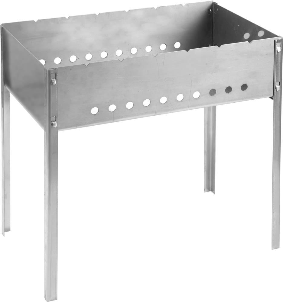 Мангал Grinda Barbecue, нержавеющая сталь, 50 х 30 см