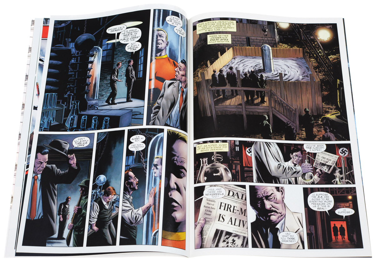 The Marvels Project№1 It all begins in New York City in the year 1938 with Dr. Tom Halloway...