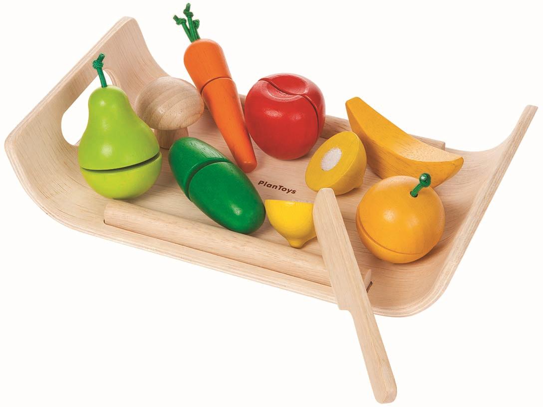 Plan Toys Игровой набор Фрукты и овощи