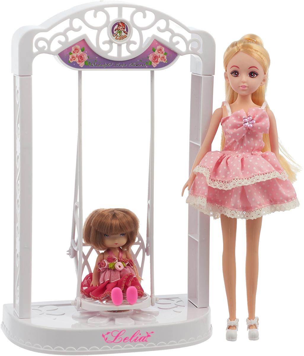 электронные качели Bradex Кукла Лелия с качелями