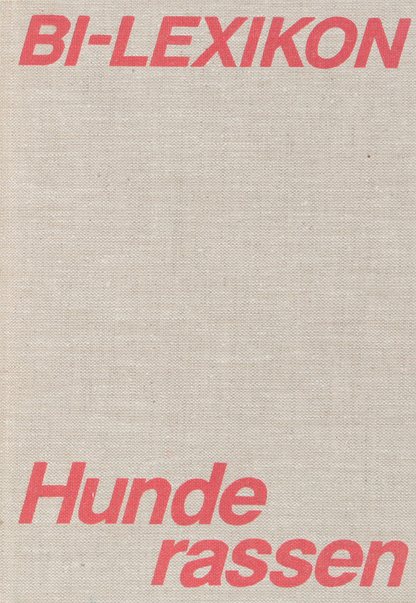 Bl-Lexikon Hunderassen цена и фото