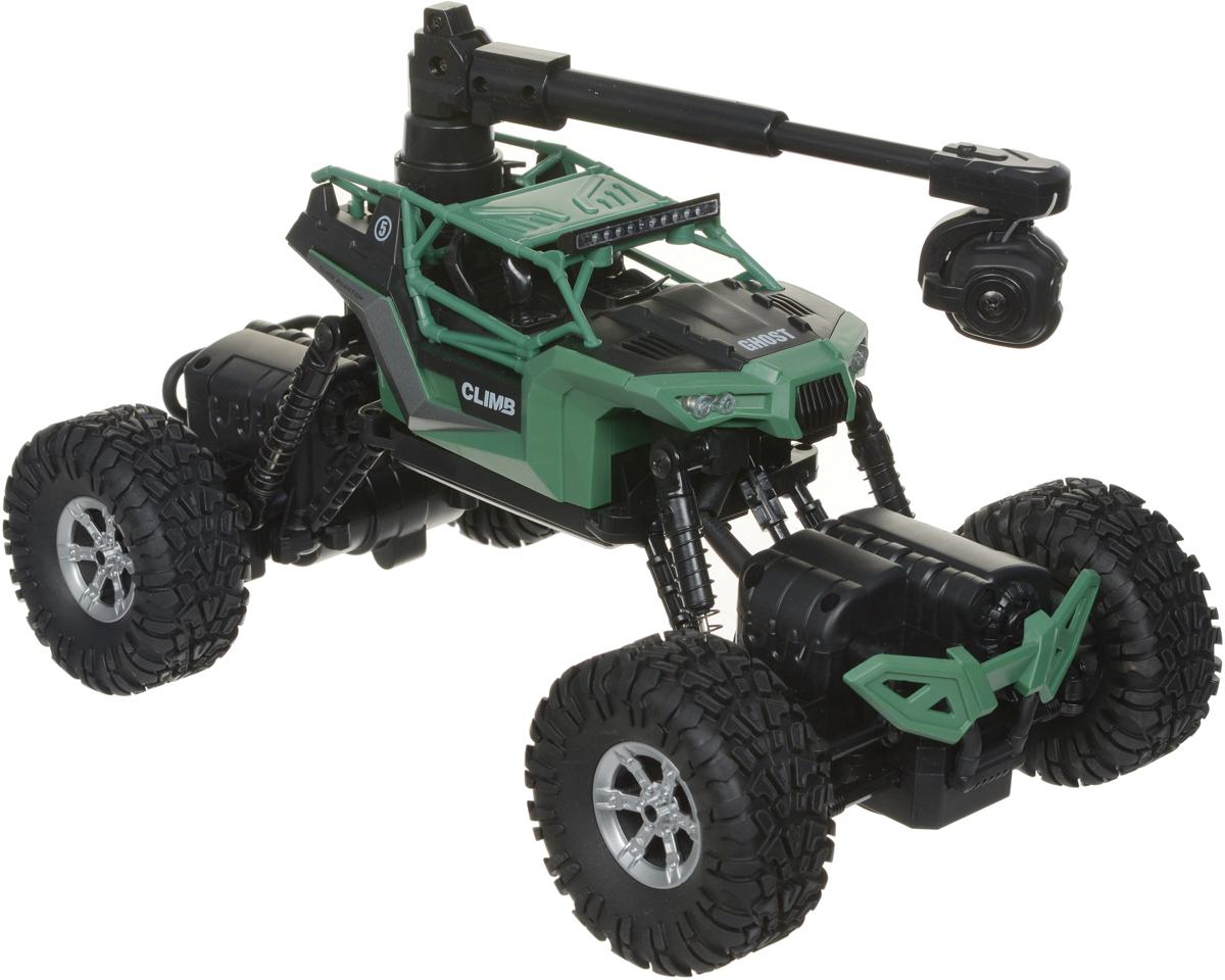 1TOY Багги на радиоуправлении Драйв цвет зеленый Т10972 игрушки на радиоуправлении 1toy драйв