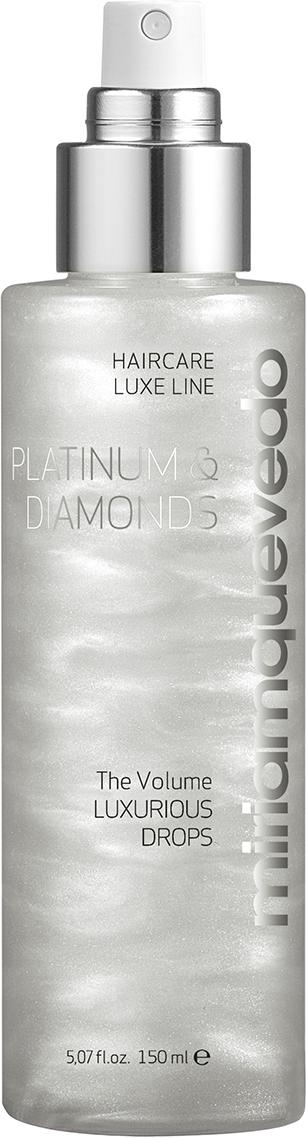 Miriam Quevedo Бриллиантовый спрей люкс с Платиной Platinum and Diamonds Luxurious Drops, 150 мл бриллиантовый шампунь класса люкс с платиной platinum