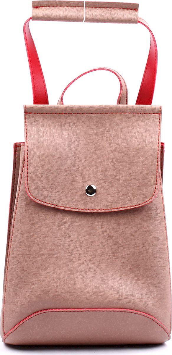 Рюкзак женский Медведково, цвет: бежевый. 17с2302-к14 рюкзак женский медведково цвет бежевый 16с3880 к14