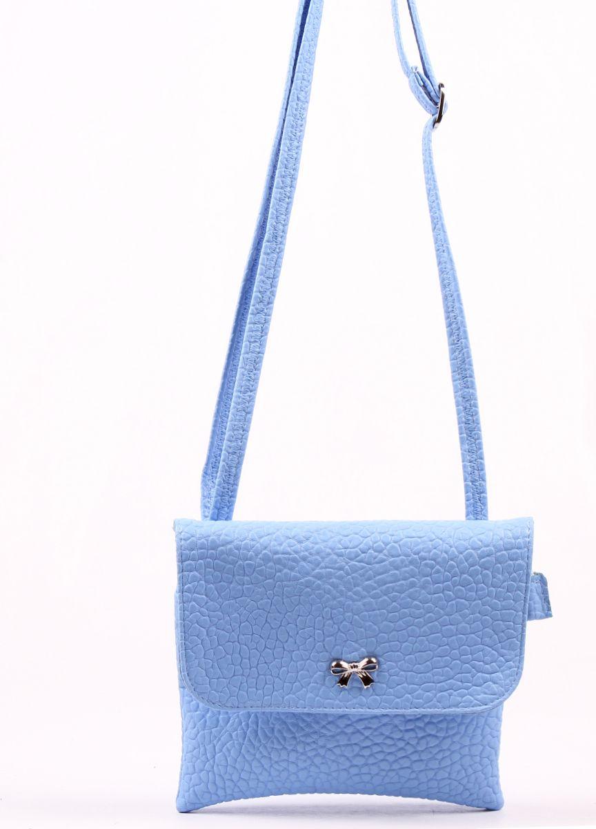 Сумка кросс-боди женская Медведково, цвет: синий. 17с3669-к14 сумка шоппер женская медведково цвет темно синий 16с3492 к14