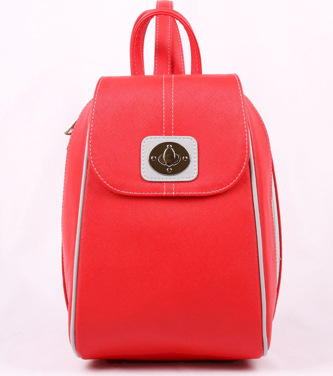 Рюкзак женский Медведково, цвет: красный. 17с3542-к14 рюкзак женский медведково цвет бежевый 16с3880 к14