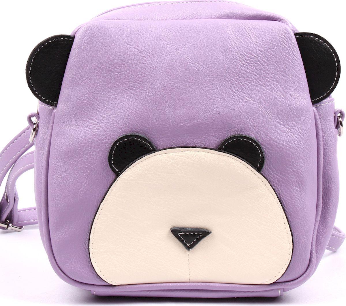 Фото - Рюкзак женский Медведково, цвет: сиреневый. 17с3738-к14 рюкзак женский медведково цвет темно синий 17с4022 к14