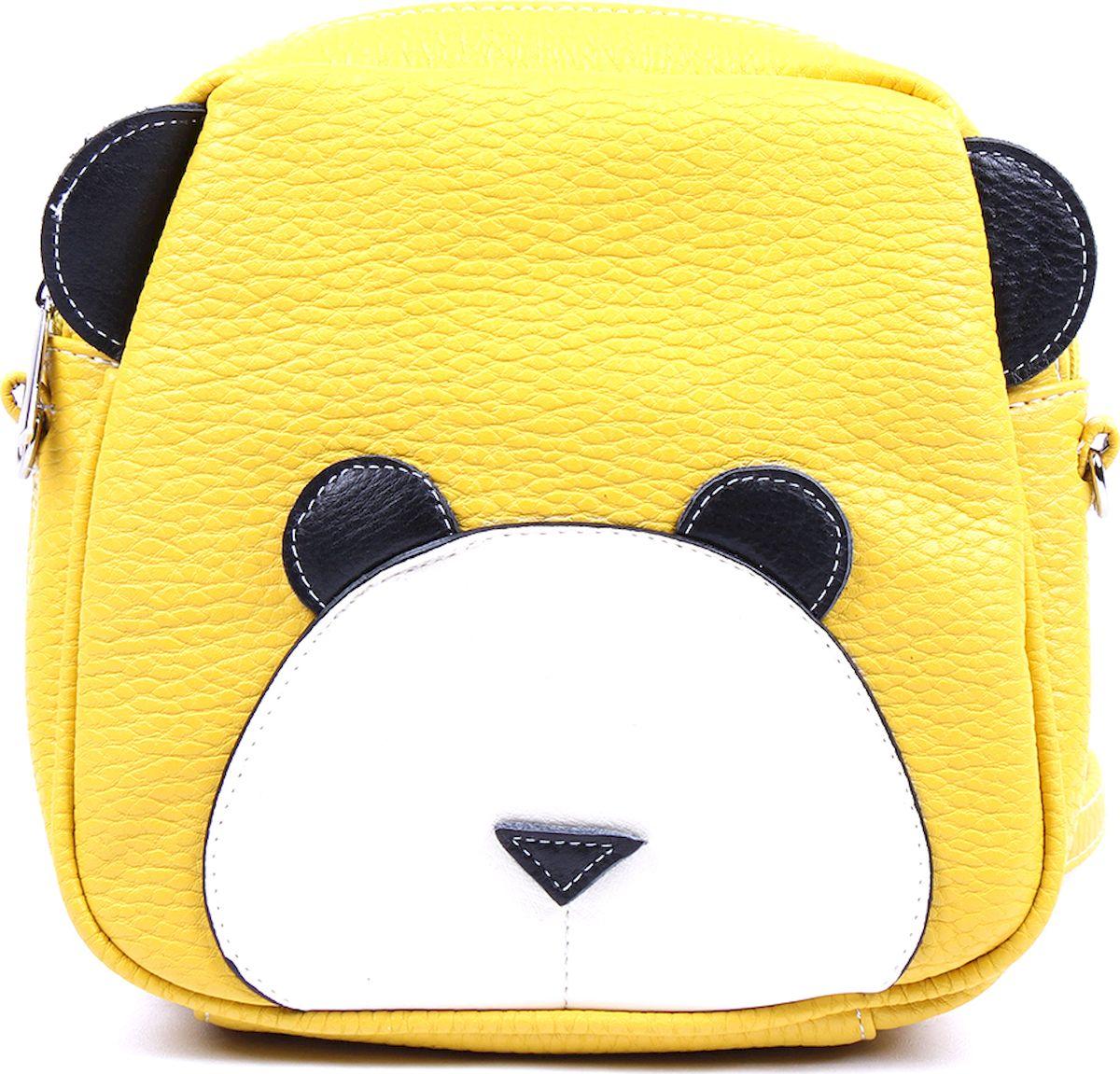 Фото - Рюкзак женский Медведково, цвет: желтый. 17с3739-к14 рюкзак женский медведково цвет темно синий 17с4022 к14