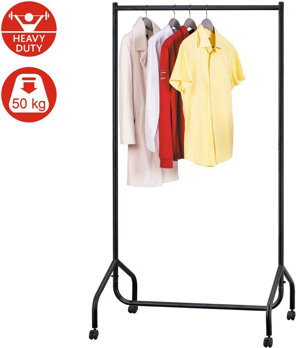Сверхмощная стойка для одежды Tatkraft Basis полоски самоклеящиеся tatkraft mirakel для рамок цвет белый 4 шт