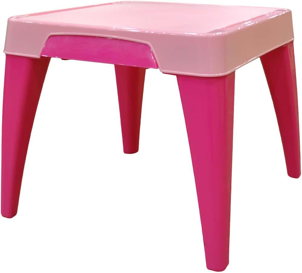 """Стол детский Little Angel """"Я расту"""", цвет: розовый"""