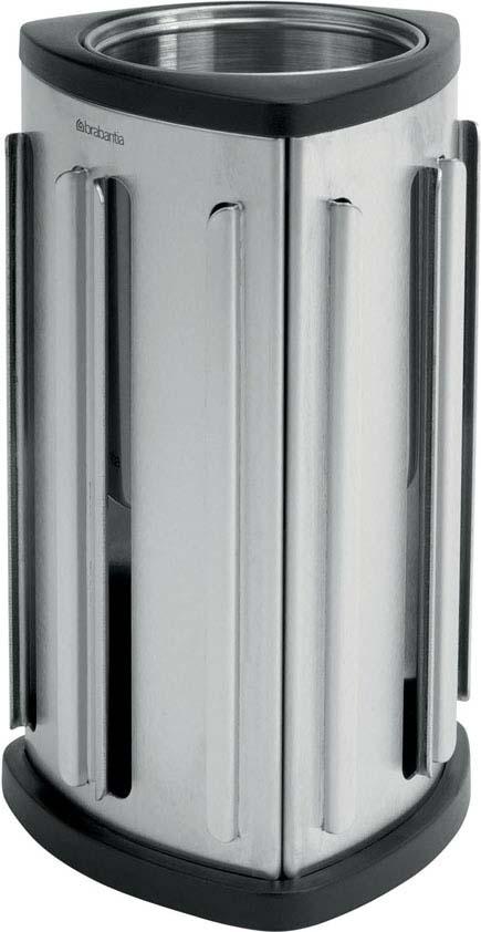 """Стенд для капсул Brabantia """"Nespresso"""", настольный, цвет: стальной матовый. 418709"""