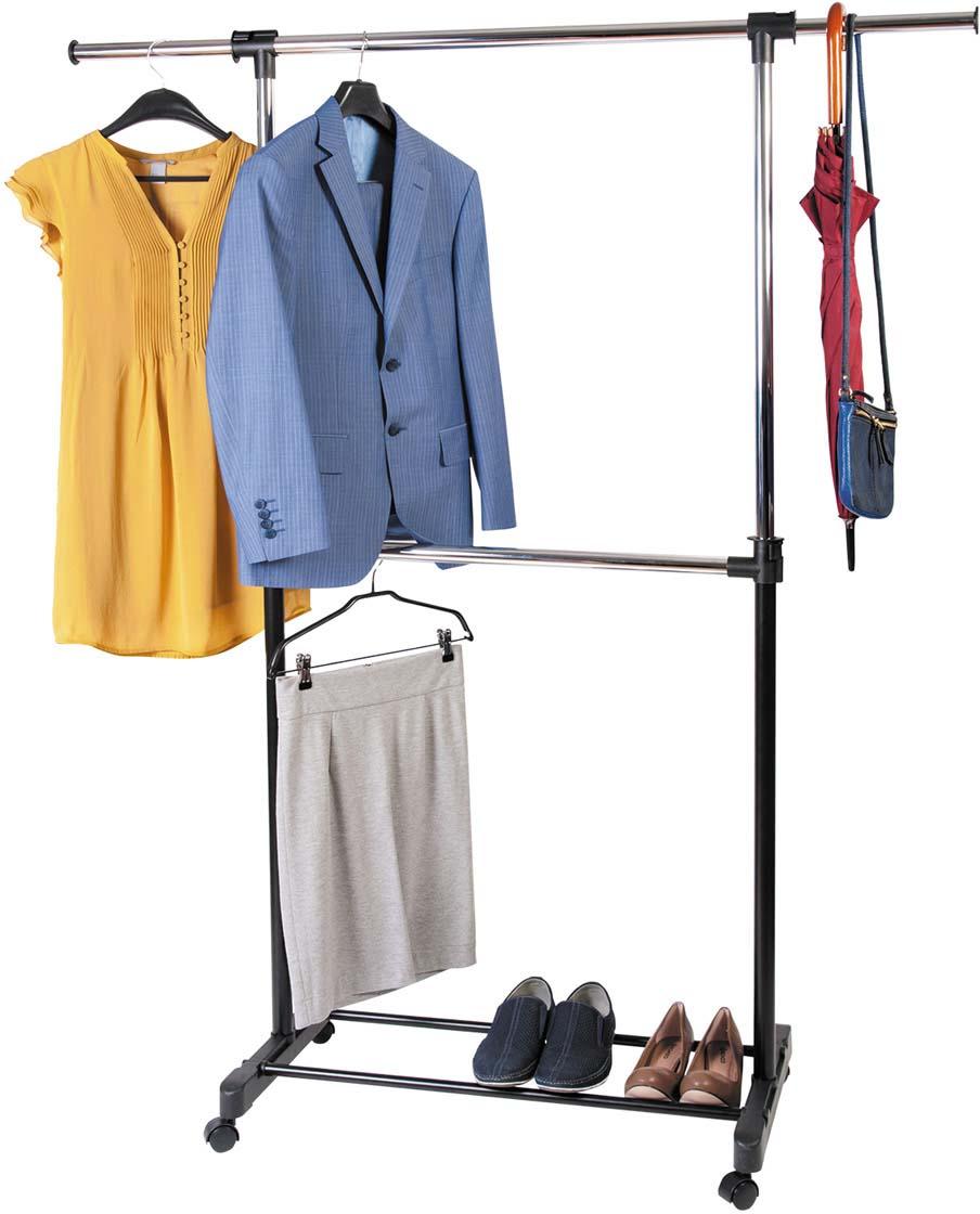 цена Стойка для одежды и обуви Tatkraft