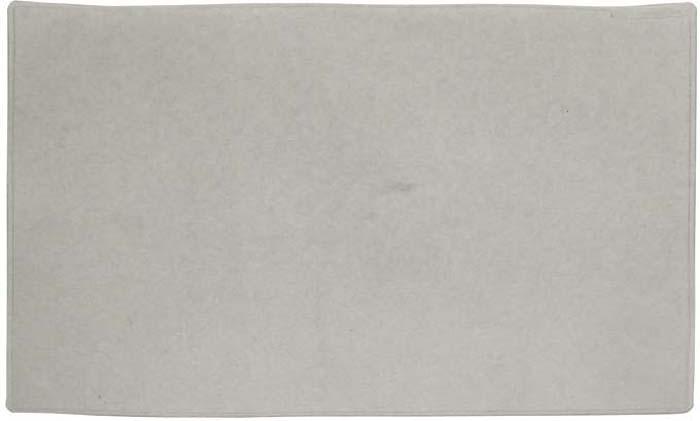 Настольная подкладка-коврик для письма  Durable , цвет: серый