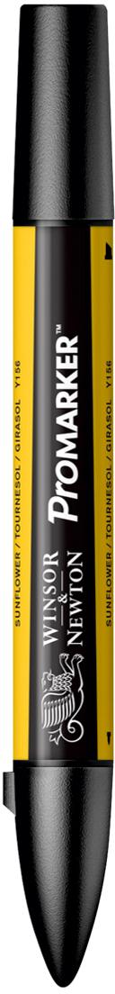 Winsor&Newton Маркер двухсторонний Promarker цвет: y156 желтый подсолнечник